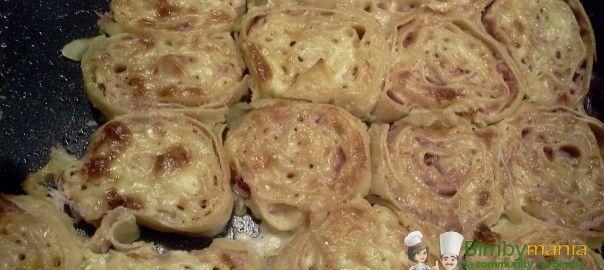 Girelle con prosciutto e formaggio - Ricette Bimby
