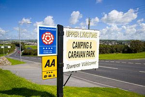 Caravan, Touring and Camping Holiday Park in Bude, Cornwall