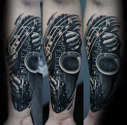 Best 25 Saxophone Tattoo Ideas On Pinterest Music Bird Music Symbols And Flute Tattoo