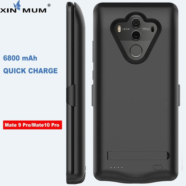 Xin Mum 6800mah Smart Battery Charger Case For Huawei Mate 10 Pro Mate 9 Pro Case Backup Cover Powerbank For Huawei Mate Battery Charger Huawei Mate Powerbank