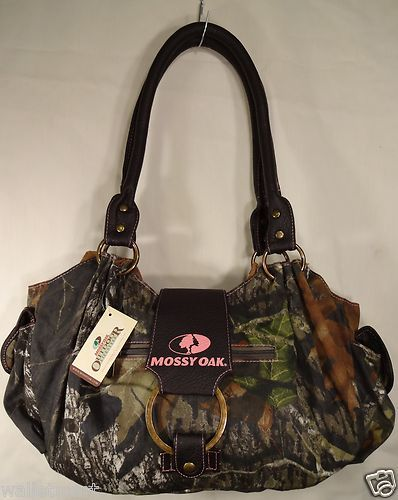 Mossy Oak Camo Original Style Purse Bag Women's Ladies Handbag Hobo New | eBay