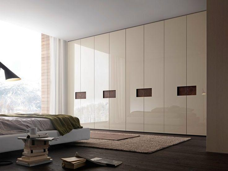 Sectional lacquered wardrobe ALIBI Tecnopolis Collection by Presotto Industrie Mobili | design Pierangelo Sciuto