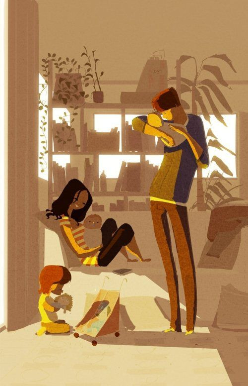 Pascal Campion - love his illustrations!