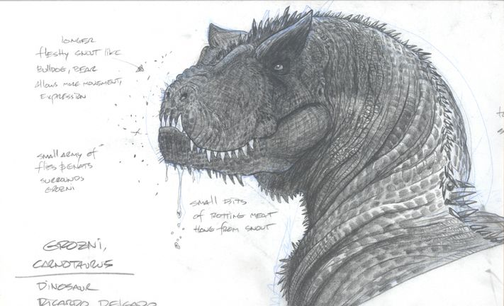 Carnotaurus anatomy