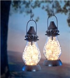 flower blooms led solar lantern - Outdoor Solar Lanterns
