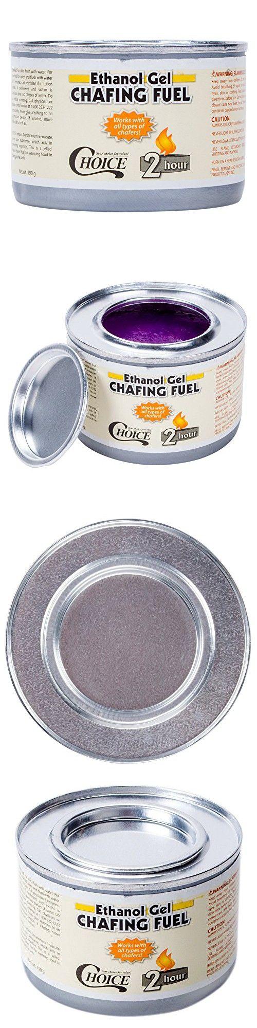 Choice Ethanol Gel Chafing Dish Fuel - 12/Pack