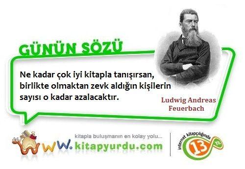 Alman filozof Ludwig Andreas Feuerbach'tan iddialı bir söz..! #Fizlozoflar