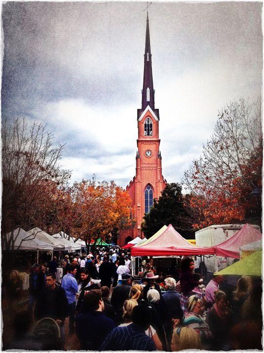 Charleston Farmer's Market, Francis Marion Park