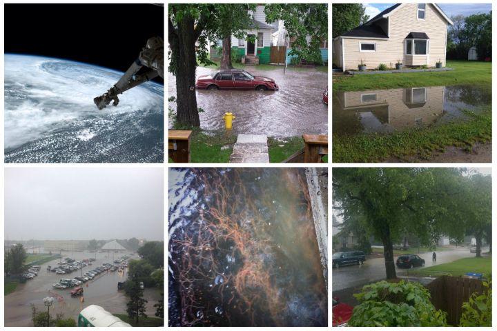 Flooding, highway closures as heavy rain pounds Prairies