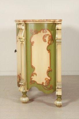 Credenza decorata #dimanoinmano #occasioni #bottegadel900 #arredamento #mobilio #furniture #design #italianfurniture