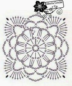 Roberta Crochê e Cia: Bolsinha em Crochê com Gráfico  Uma linda bolsinha que encontrei na net e corri compartilhar .  Ela é bem simples de ser feita , mas muito fofa.