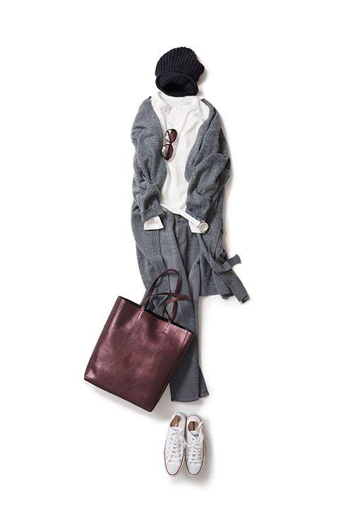 Kyoko Kikuchi's Closet #kk-closet 秋晴れの日に着たいグレーコーデ