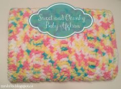 Free pattern. Baby blanket using Bernat baby blanket yarn