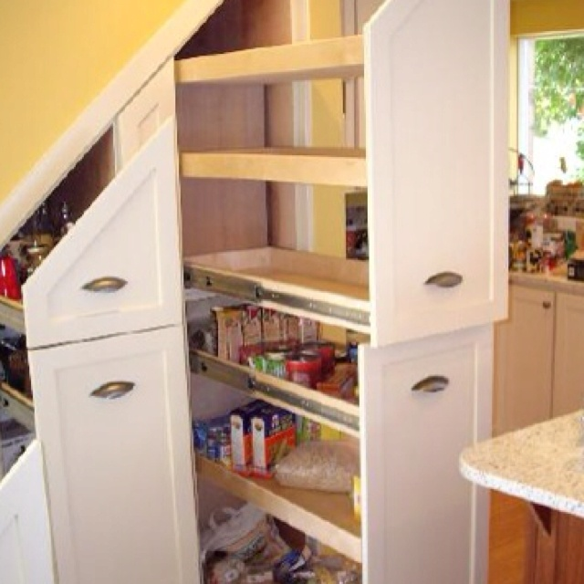 Under Stairs Kitchen Storage Ideas: 178 Best Images About Under The Stairs On Pinterest
