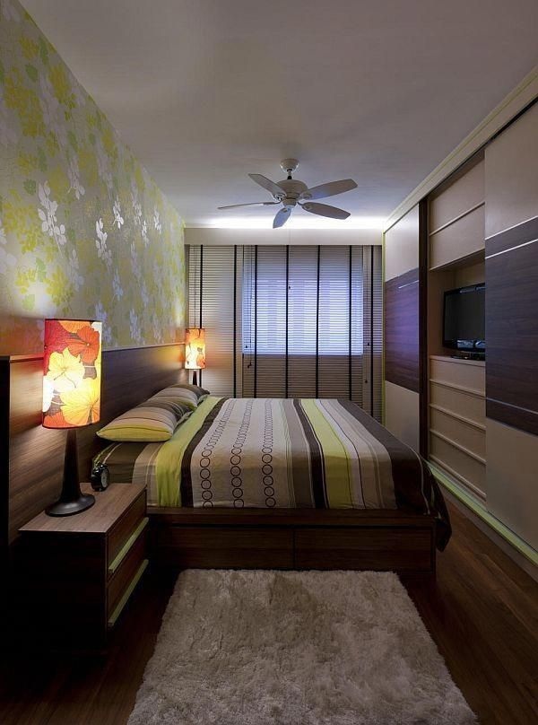 45 Small Bedroom Designs for Couples #bedroomdesignforcouples #HabitacionesMatrimonialesMinimalistas #bedroomdesignsforcouples