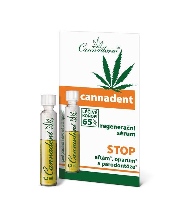 Cannadent Serum regenerujące na pleśniawki i opryszczkę 1,2ml