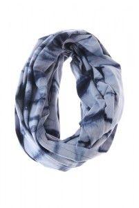 S16NB, Navy Blue tube scarves.