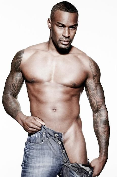 Tyson Beckford was chiseled out of stone by the gods.<- lol, I love this comment. plus I think its true.
