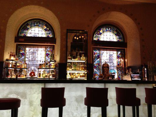 Lobby Bar of Europe Hotel – Elegant Art Nouveau bar