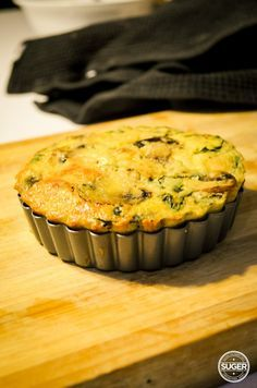 Thermomix Crustless Quiche - Suger Coat It: Living the Sweet Life