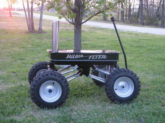 I'm thinking about doing this to Whit's old wagon he doesn't play with much.