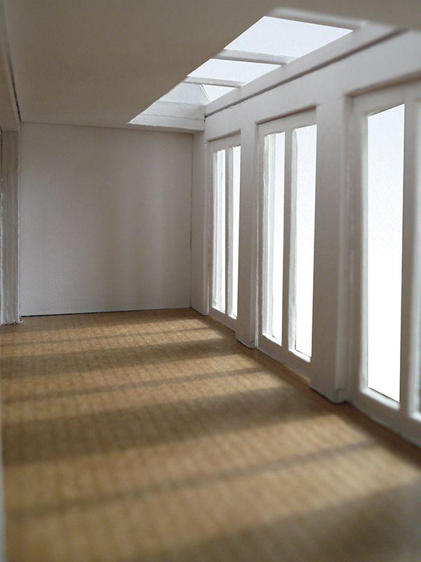 Samenvoeging twee appartementen Hoofddorppleinbuurt Amsterdam // Aanbouw met daklicht en openslaande deuren // Lumen Architectuur