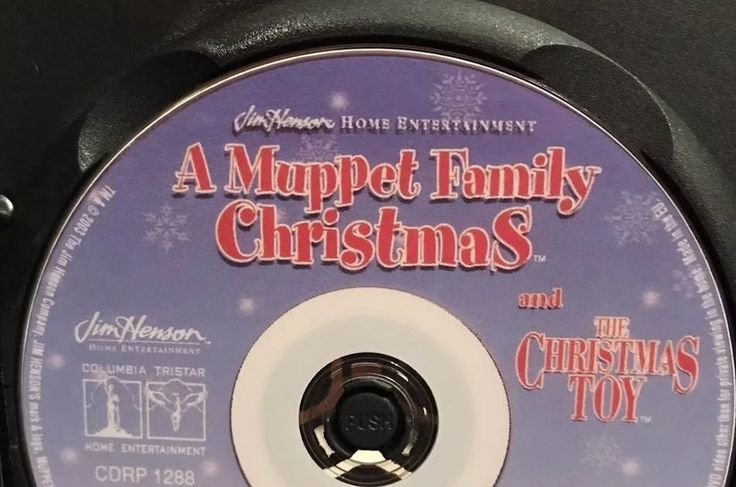 A MUPPET FAMILY CHRISTMAS DVD Full UNEDITED Movie Uncut  The Christmas Toy rare