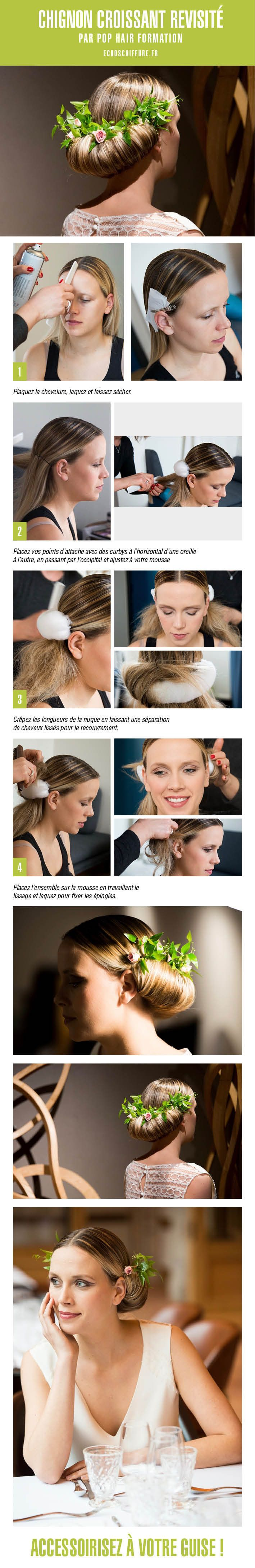 42 best Tutoriel Coiffure Hair Step by step images on Pinterest