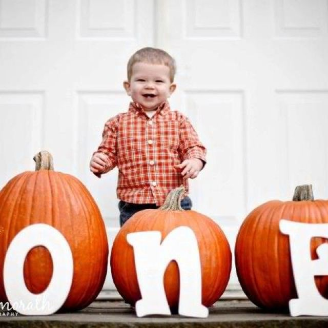 First birthday with pumpkins! Shawna Morath Photography