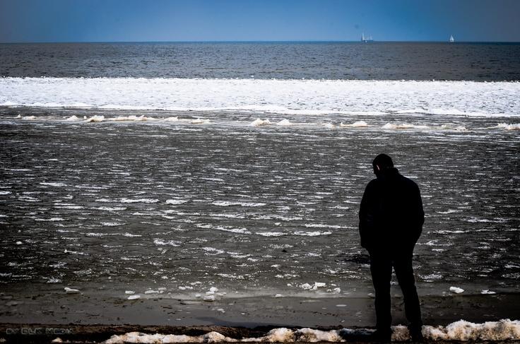 Het eindeloze IJsselmeer, Enkhuizen / NL