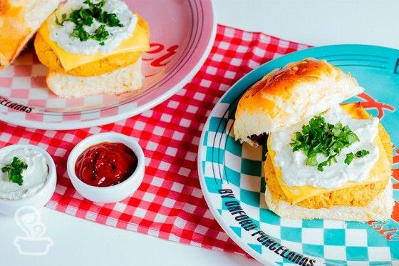 Prato Burger - Oxford Daily Receita: Hamburguer vegetariano apimentado do blog @naminhapanela