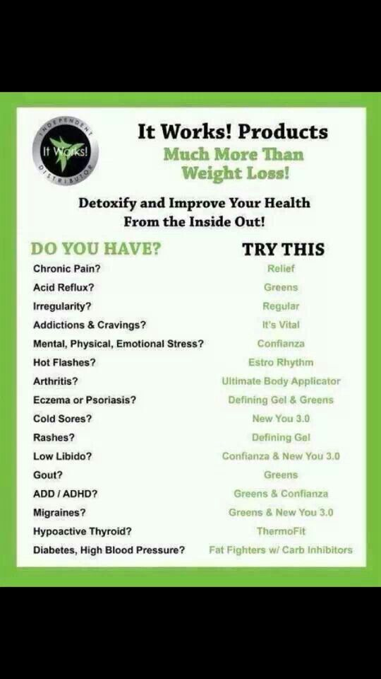 It Works Global has Body Wraps & So much more! www.vegascrazywraps.com or check out my Facebook.com/ vegascrazywrap  go ahead and like my page