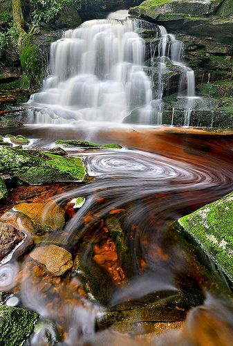 I want to go there! Shay's Run, Blackwater Falls State Park, West Virginia!