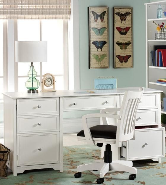 Best 25+ White home office furniture ideas on Pinterest | Home ...
