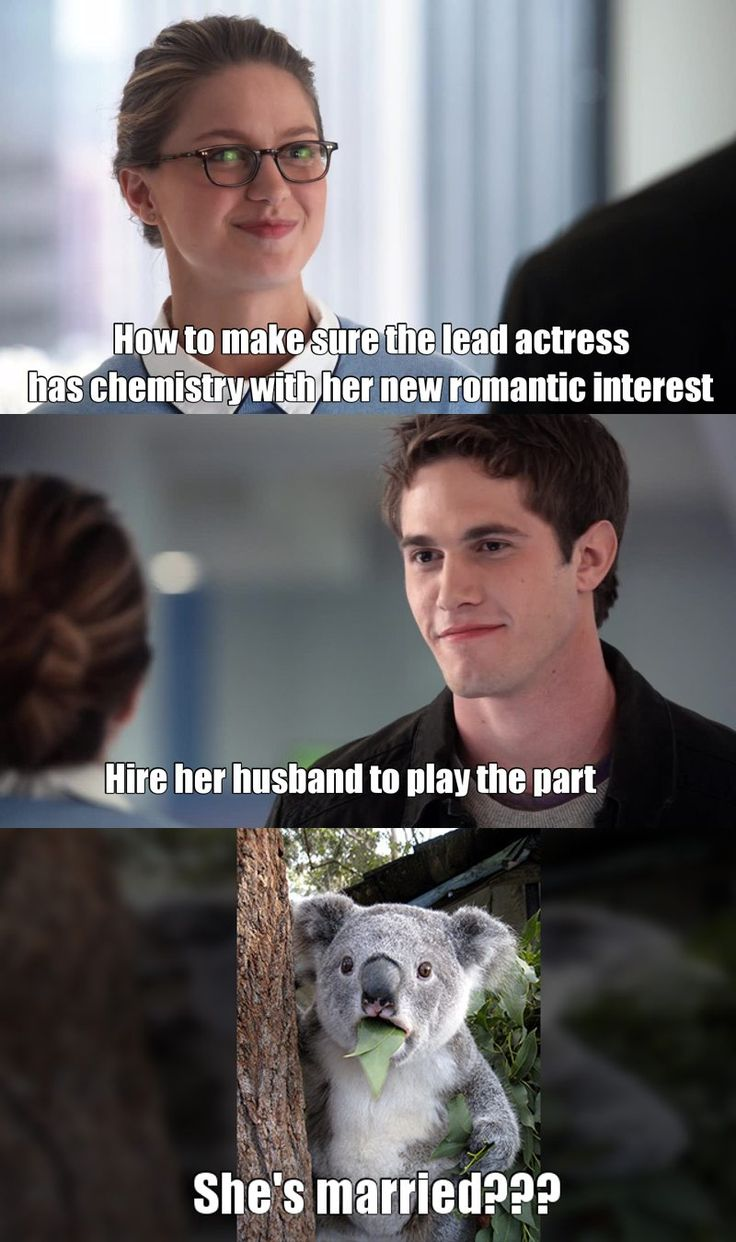 Wuuuuut?! They're pretty good at flirting, that Melissa Benoist and Blake Jenner.