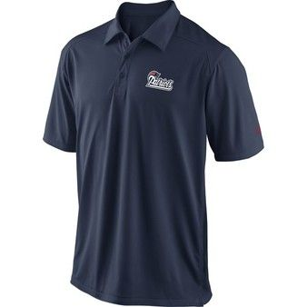 Official New England Patriots ProShop - Nike Patriots Coaches Polo-Navy