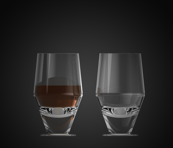 Skittla glass by David Nevařil on the Behance Network