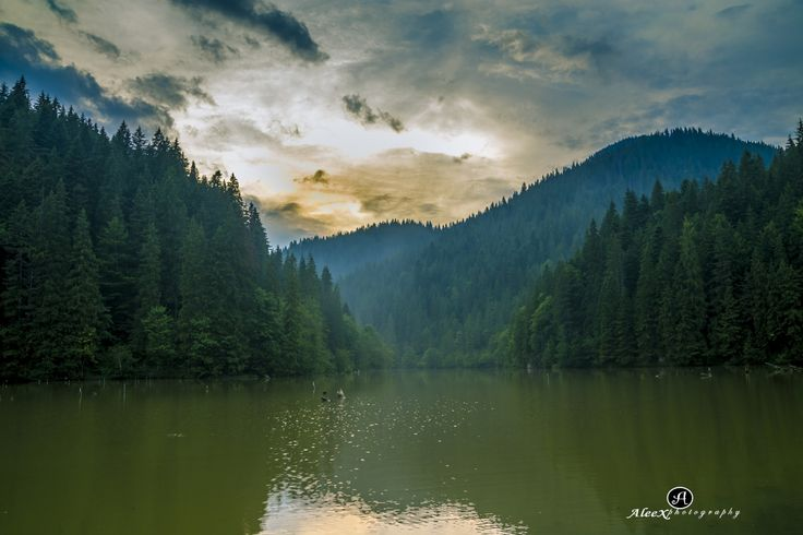 Lacu Rosu Bicaz Romania by Alex B on 500px