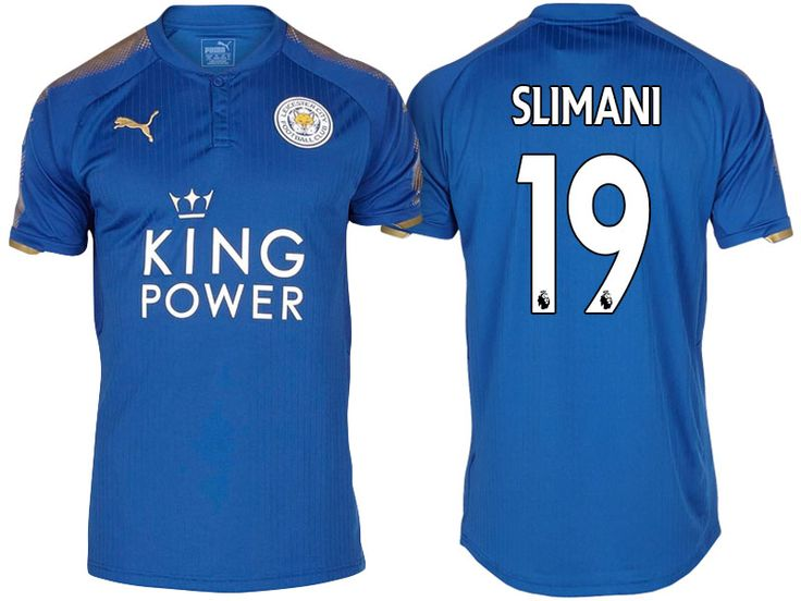 Leicester City Jersey islam slimani Home 17-18 Shirt