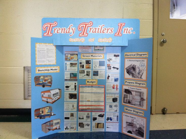 trifold poster board ideas - Google Search