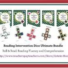 BEST VALUE!  The Reading Intervention Dice Ultimate Bundle includes all 5 themes of reading dice: Owl, School Days, Animal Print, Girl and Boy.  Th...