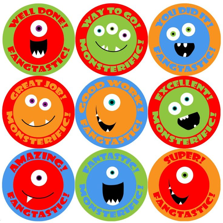<p>These colourful Monster Smiles Praise Words reward stickers are perfect to make a big impression on young learners and can be used with any Reward System.</p>