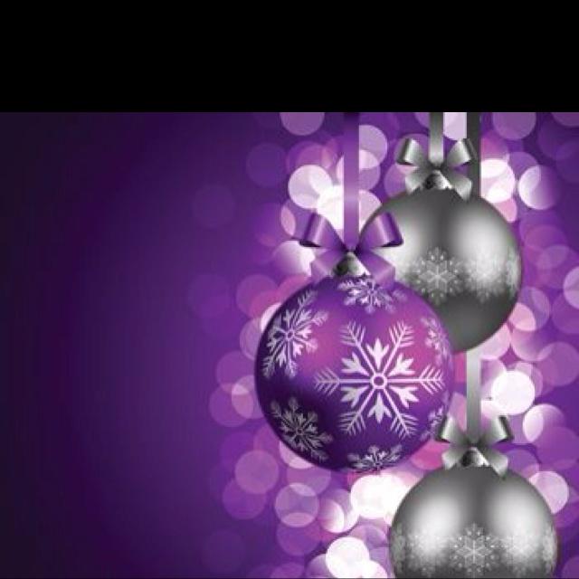 Purple Balls For Decoration 92 Best Purple Christmas Images On Pinterest  Christmas Ideas