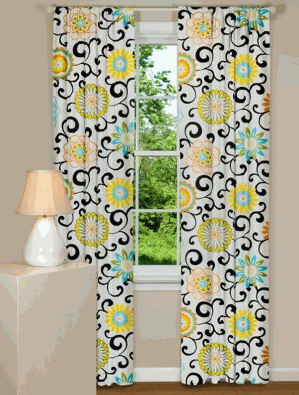 gardinendekoration. Black Bedroom Furniture Sets. Home Design Ideas