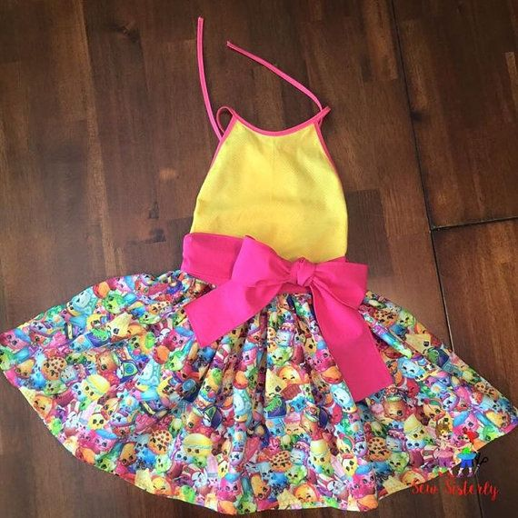 Shopkins Party Dress by SewSisterlyCreations on Etsy