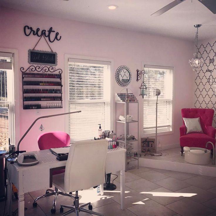 Nail Salon Game Beauty Makeover: 25+ Best Ideas About Nail Salon Decor On Pinterest