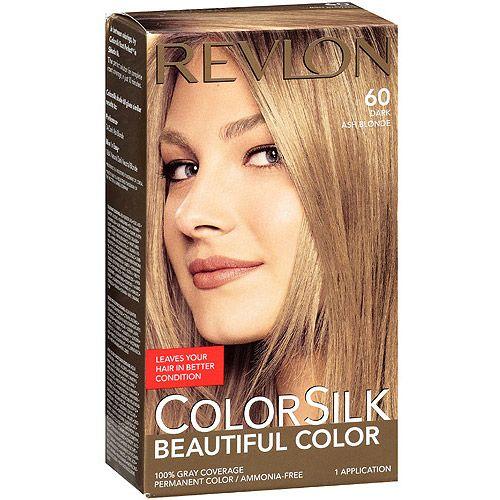 Revlon Colorsilk Beautiful Color Permanent Hair Color 60 Dark Ash Blonde Hair Care Walmart