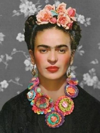 Frida did not originally plan to become an artist. A survivor of polio, she entered a pre-med program in Mexico City. At the age of 18, she was seriously injured in a bus accident. She spent over a year in bed recovering from fractures to her spine, collarbone and ribs, a shattered pelvis, and shoulder and foot injuries. She endured more than 30 operations in her lifetime and during her convalescence she began to paint.