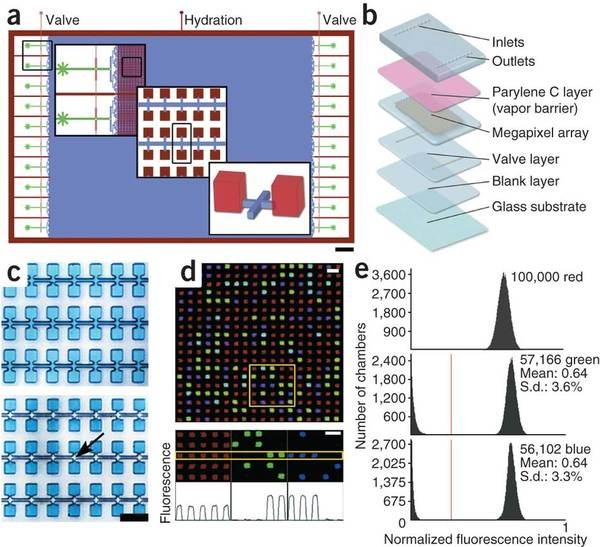 Megapixel digital PCR using planar emulsion arrays. Oh, I'm so excited to get this!!!