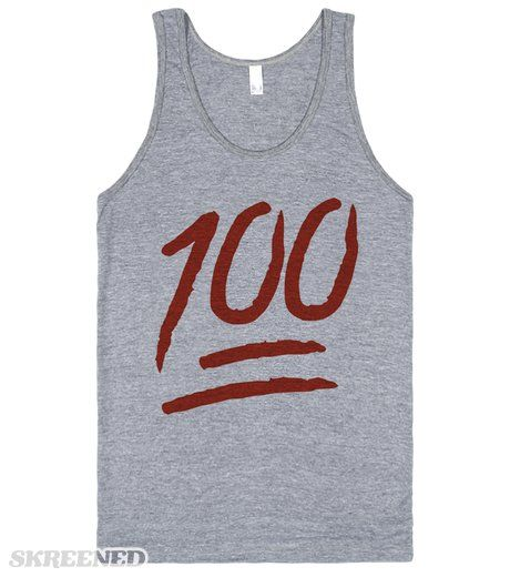 Keep it 100 Emoji Life is hard! But you have to make sure you keep it 100! Stick to the way you are, no matter what any one else says or thinks! Printed on Skreened Tank